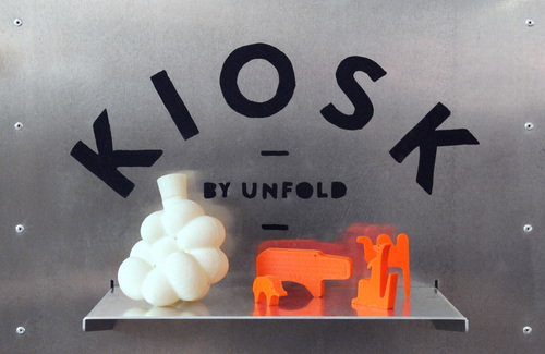 Kiosk Studio Unfold at ArTechLab