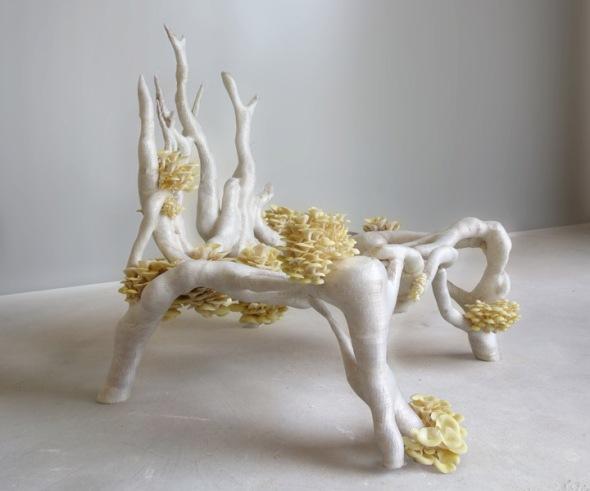 MyceliumChair by Studio Eric Klarenbeek
